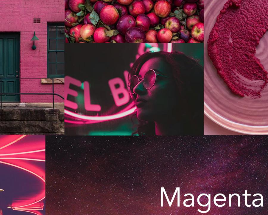 Catherine McGuire Surface Design Color Trend Mood Board Magenta