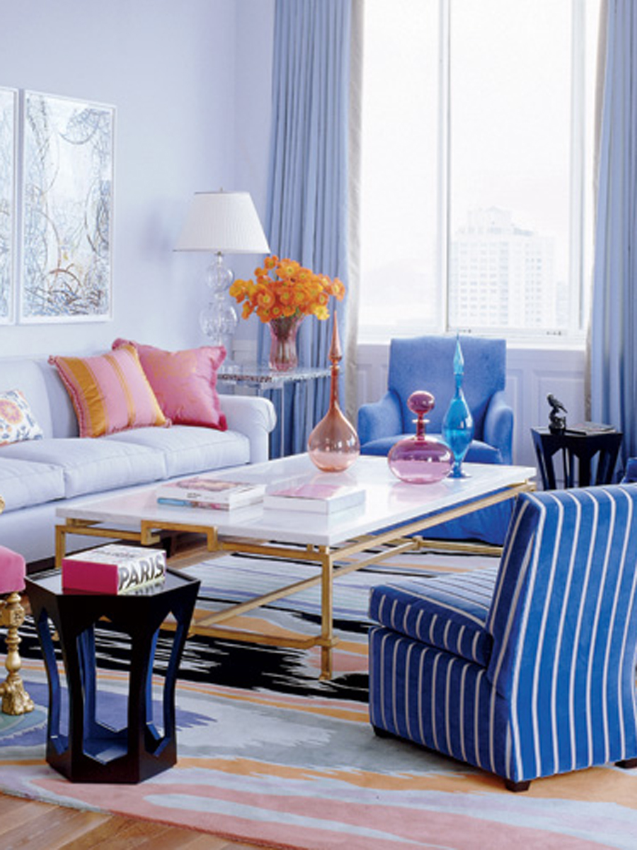 Eleanor Cayre Apartment by Jamie Drake - Elle Decor