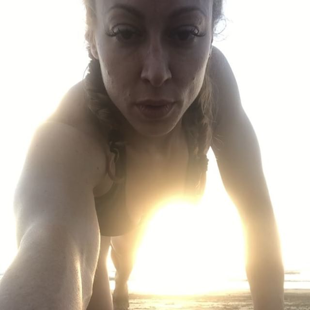"""My refuge from """"too much"""" is the beach, a best friend, and 6 days of deep rest. 🌅I came back from Costa Rica with new perspectives & focus for 2019: 🧘🏽♀️cultivate calm in the moments of chaos, nothingness is profound (& I should do it more often), & have a friend + be a friend that listens, tells hard truths and laughs easily. @lithium_can, 🙏🏼 for being that friend. Here's to 2019, @mindfull_3 and the BIG LIFE! Love u, partner. 🙏🏼"""