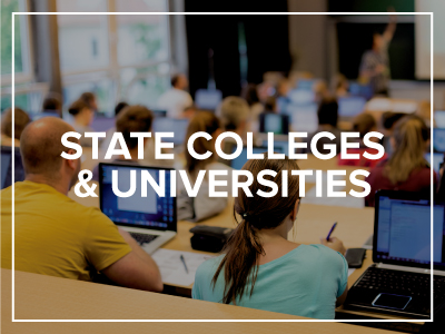 STATE COLLEGE & UNIVERSITIES