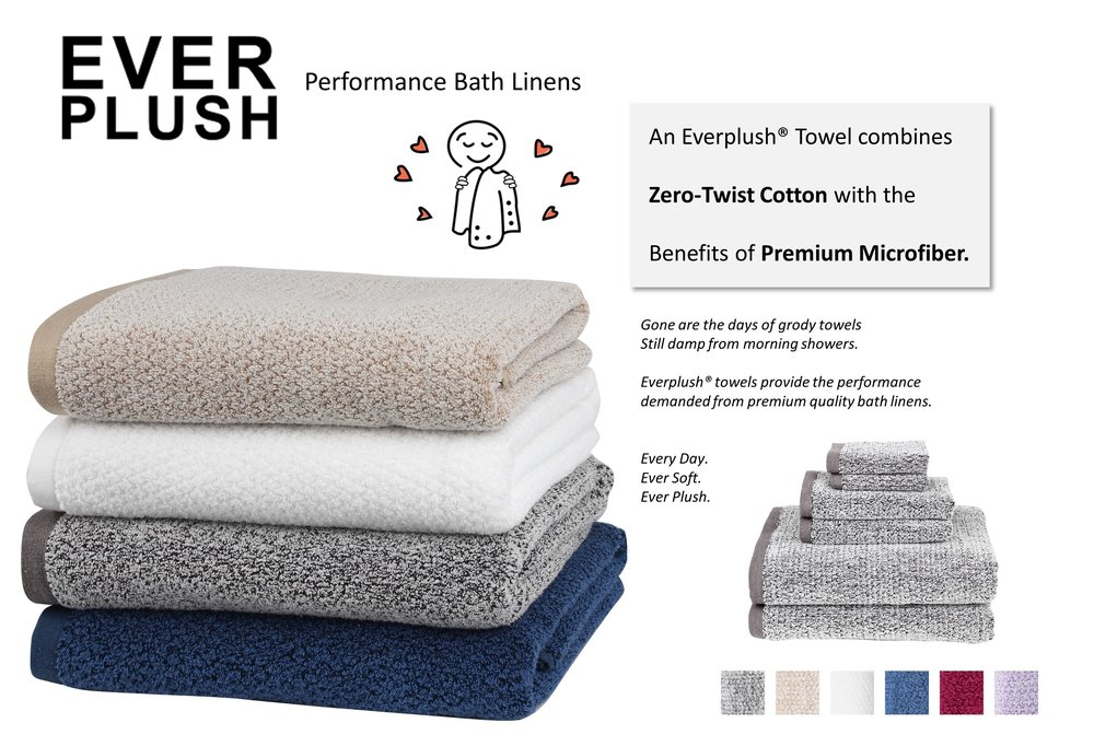 Everplush Performance Bath Linens
