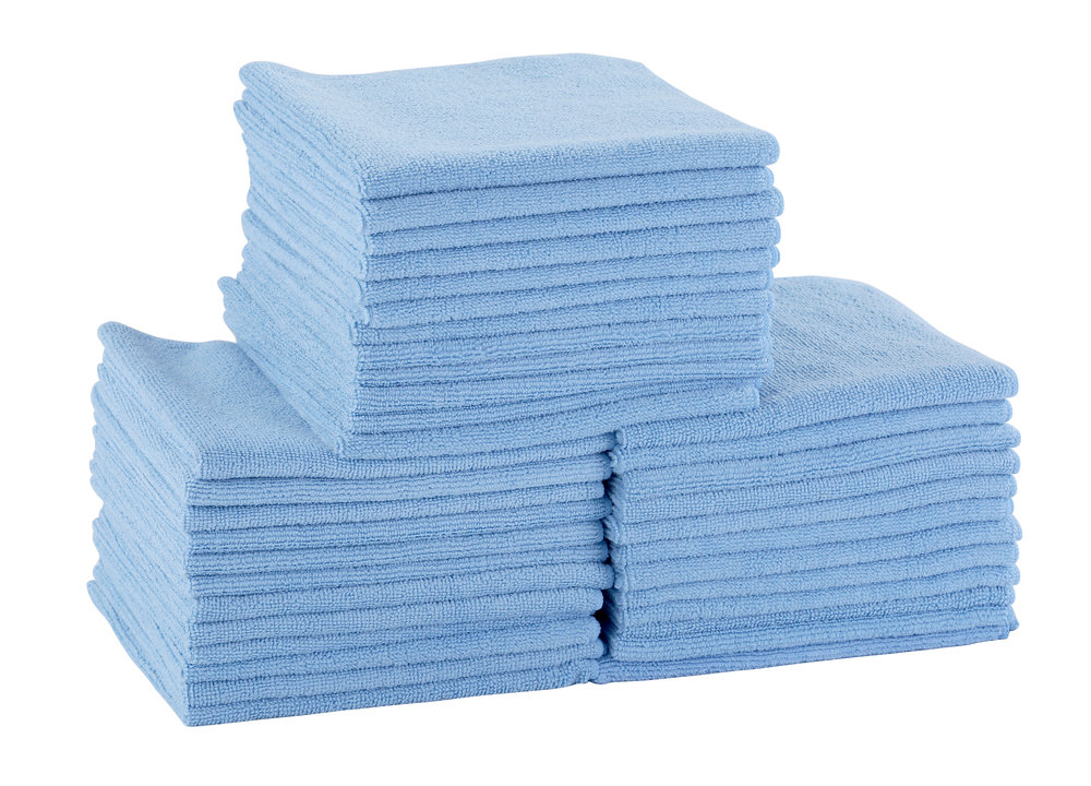 Microfiber Cleaning Cloth - Blue - 36Pk .jpg