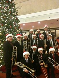 Juilliard Trombone Choir, Christmas 2010