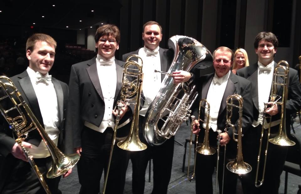 LPO Low Brass with guest Adam Rainey after Mahler 6.