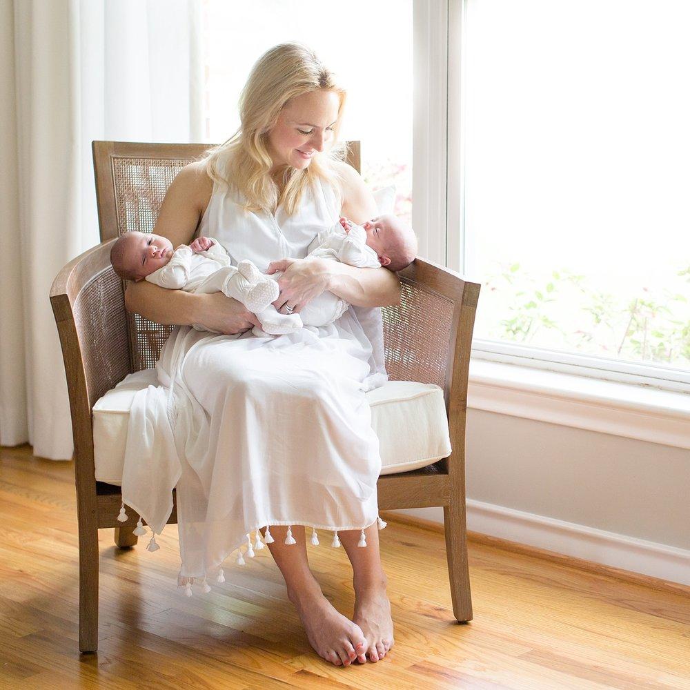 baby mila & nora newborn