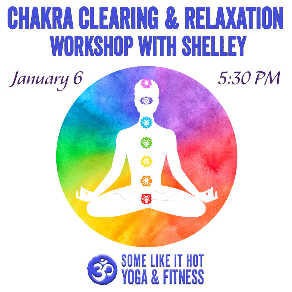Start 2019 with clear chakras and some self-love.