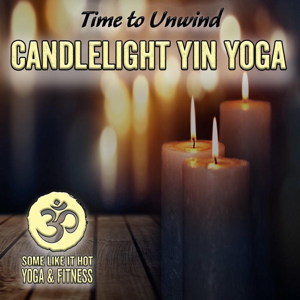 Unwind and renew with Candlelight Yin Yoga