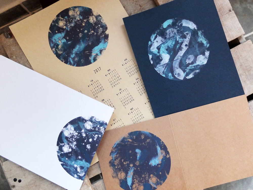 Always time to print Painterly Planets here at the Ottostop studio.... my favourite thing to print!