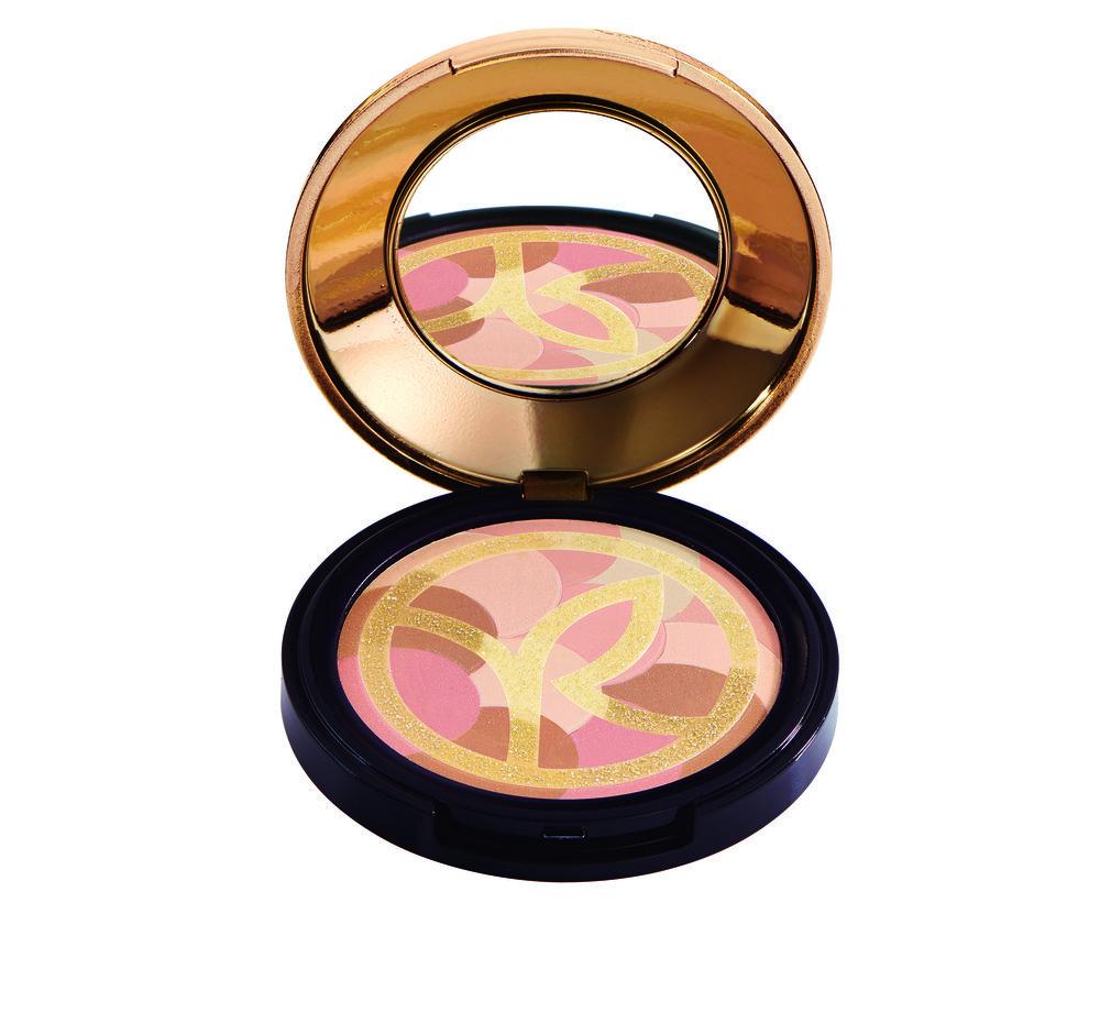 Blush met shimmerdeeltjes: ook mooi als highlighter!