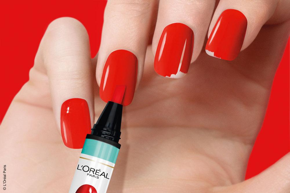 Magic Mani & go retouch pen by L'oréal. -