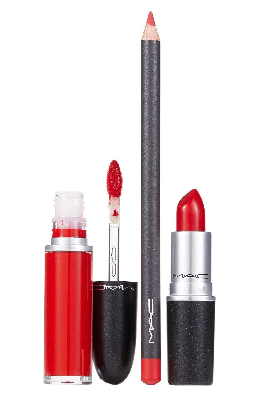 Lippencil, gloss & lipstick by M.A.C. Cosmetics