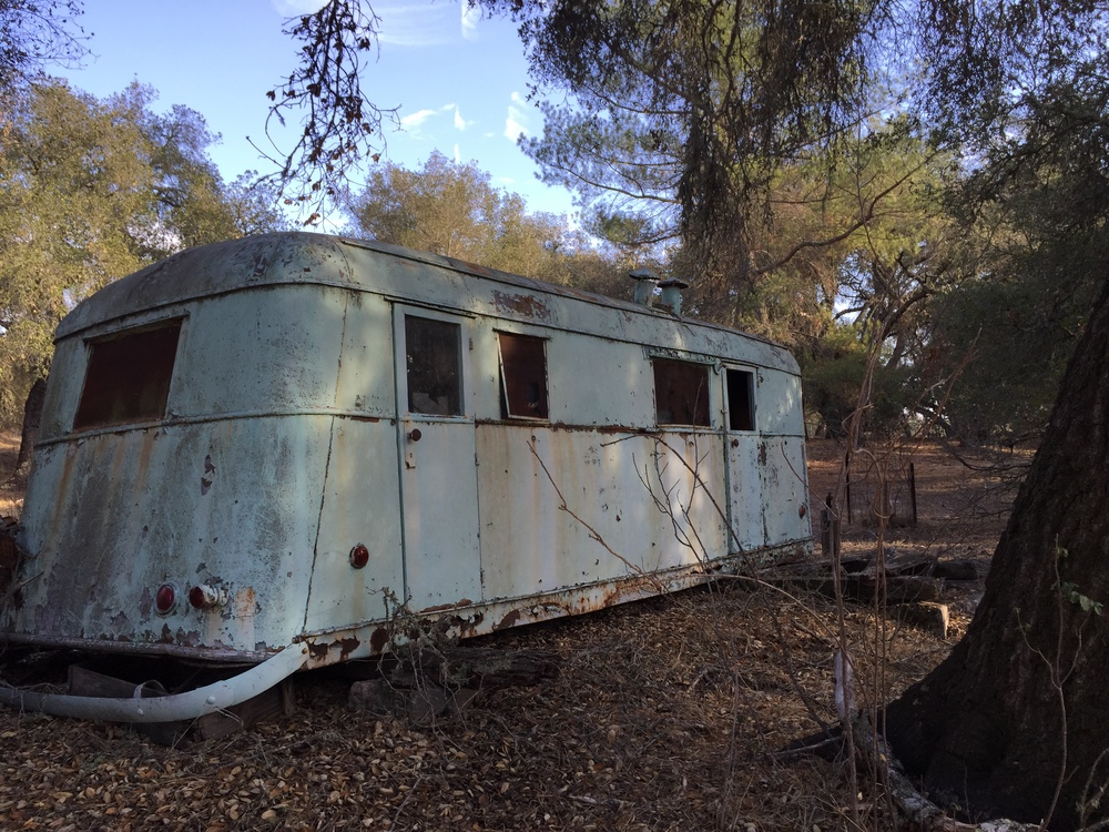 1937 covered wagon vintage trailer