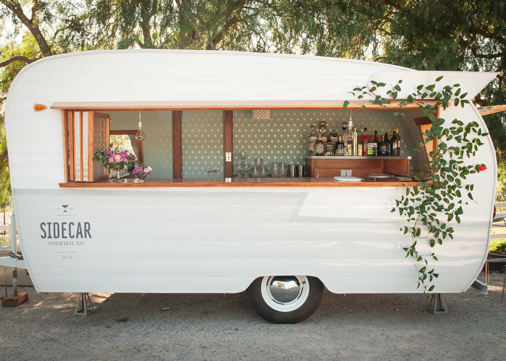 Our collection of restored vintage cocktail trailers, vintage bar trailers, vintage vending trailers, vintage trailer photo booths, and VIP lounge trailers are perfect for any special event, marketing campaigns, production, corporate retreat, weddings and more!