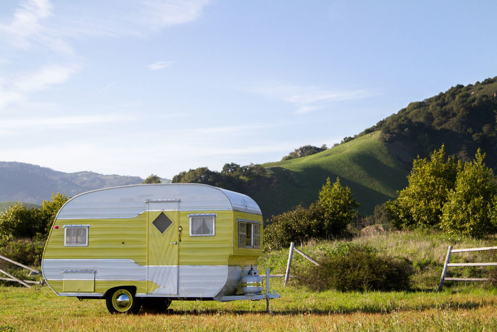 The vintage camper trailers are a unique and fun way to take a step back in time, and cherish the great outdoors as well as our American history!