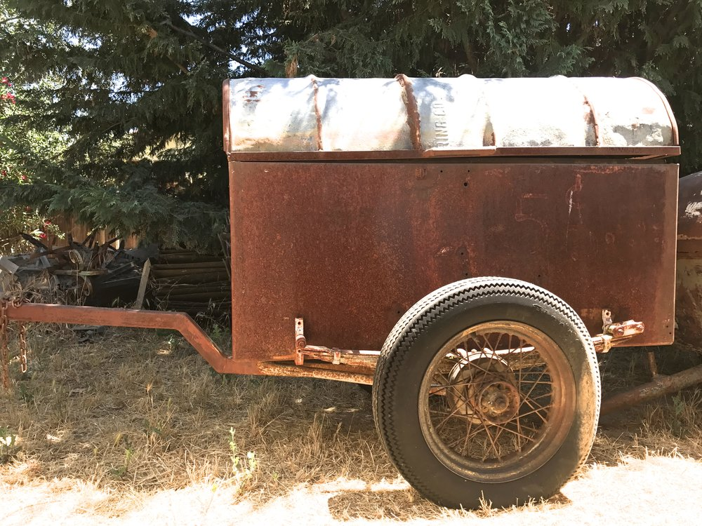 1940's Ice Box vintage trailer