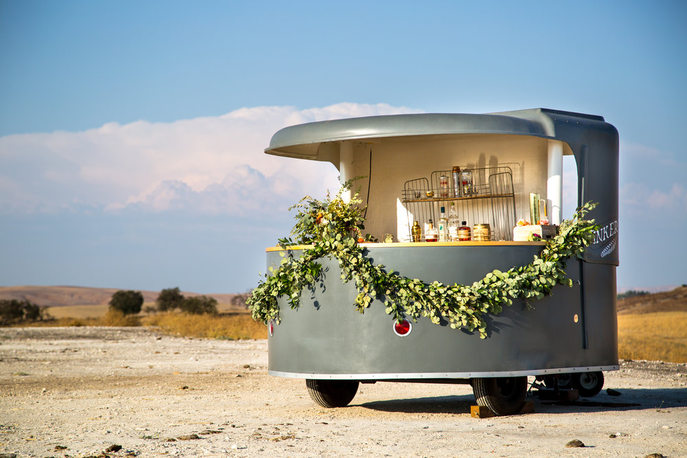 Vintage Vending Bar Trailer