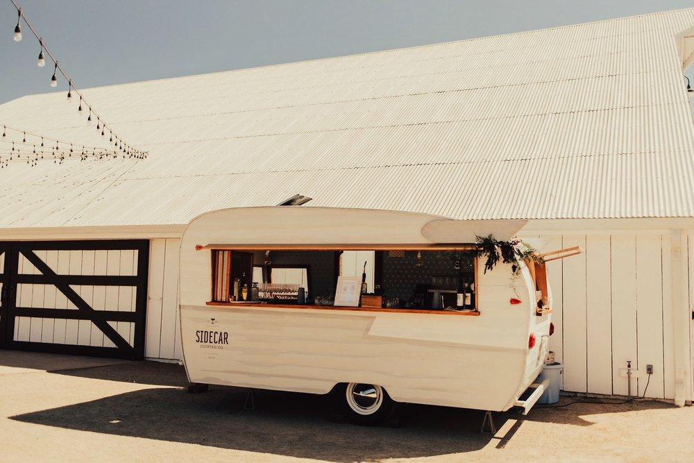 Sidecar Shasta Vintage Bar Trailer