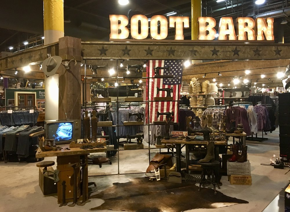 Houston Rodeo Boot Barn Expo Build