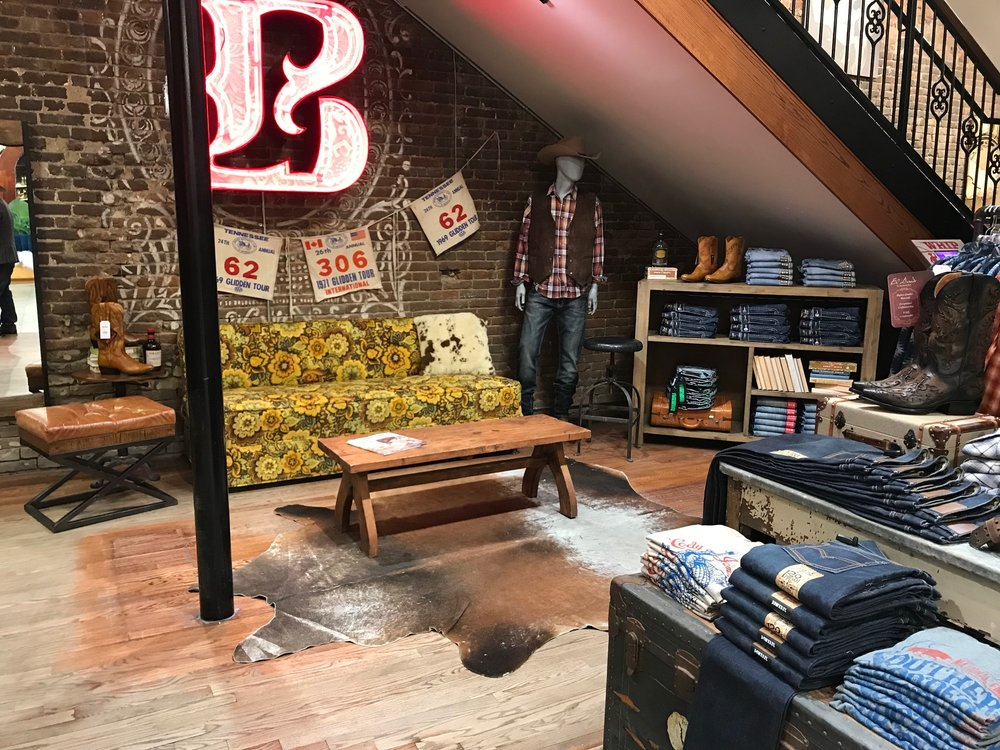 Styled Loung in Boot Barn Nashville
