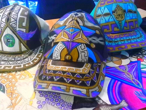 Custom Hand Painted hats — The Art of Z 9d088bf7cd7