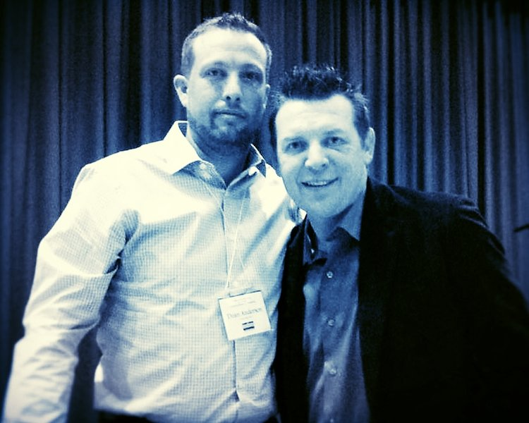 Stanley Cup Champion Theo Fleury.  This was a great day!