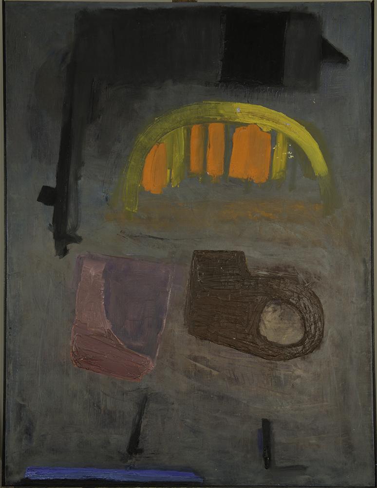 ERRANTE 1961  oil on canvas 39x51