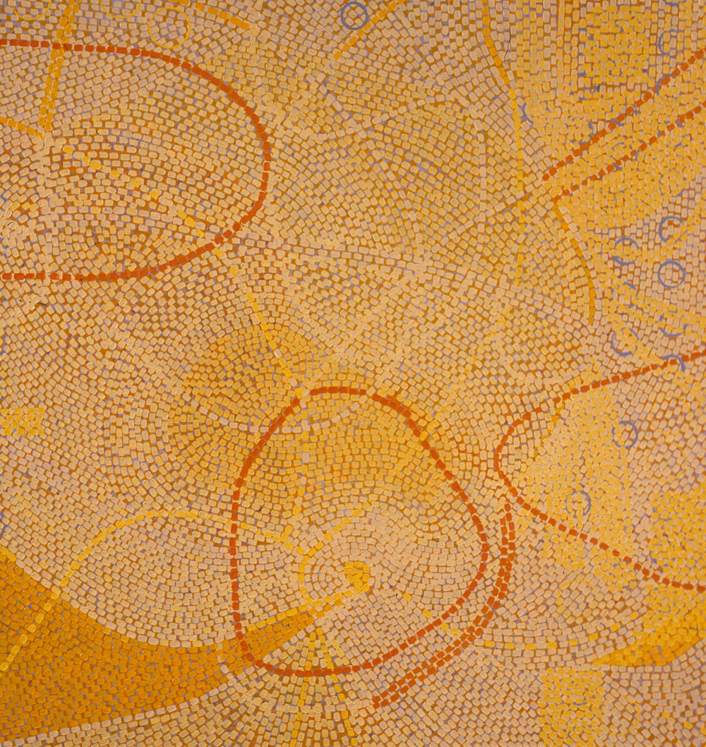 "Outcome   oil on panel 40 x 38"" 2007"