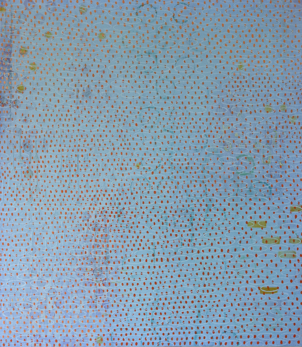 "Primary Data    oil on canvas   54 X 47"" 2004"