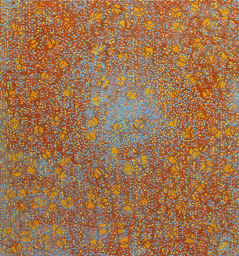 "Benediction    oil on panel 30 X 28"" 2009"