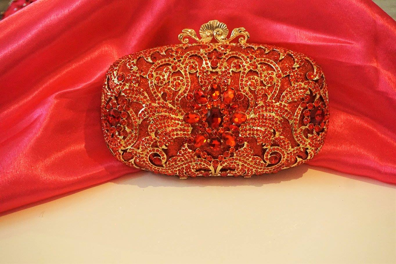 Bling Clutches Bags Eleganza Fashions Byo Shell Clutch In Matte Burgundy 93