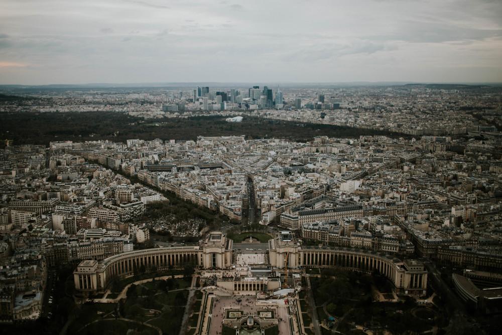 Top of the Eiffel Paris, France