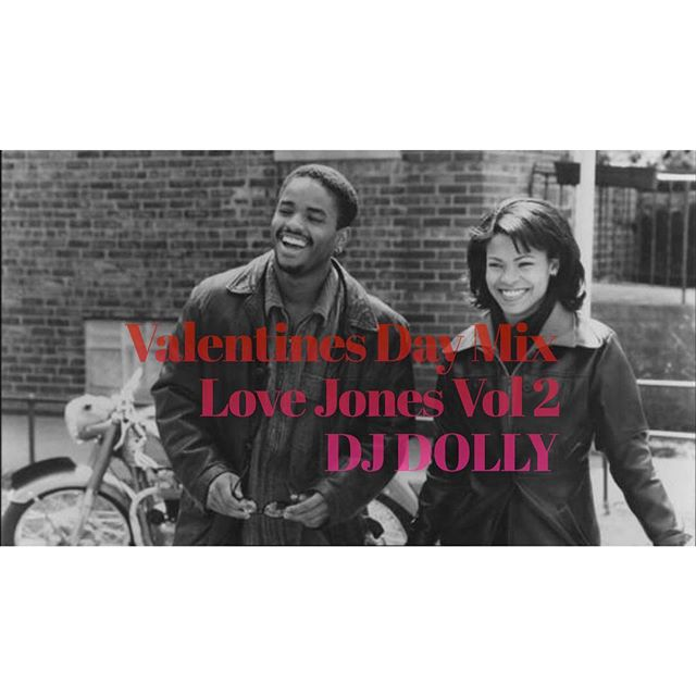 """""""Love Jones"""" is one of my favorite love stories & the soundtrack is unforgettable as well. Last year I decided to create a mix dedicated to the movie & today I'm dropping my Valentines Day Mix : LOVE JONES Vol 2 on SoundCloud. Enjoy! ❤️ *Link in bio*       #Djdolly #valentinesdaymix #lovejones #djane #SoundCloud #valentinesday #love #blacklove"""