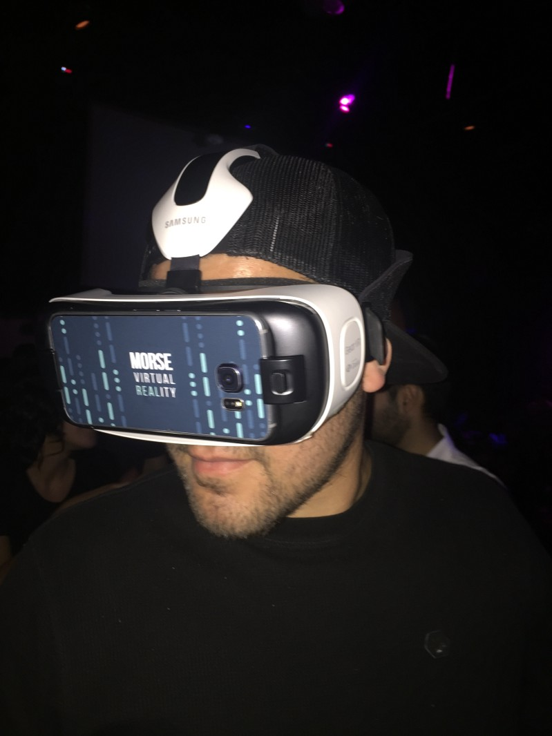 We totally blew this guys' mind with our Morse VR meeting space!