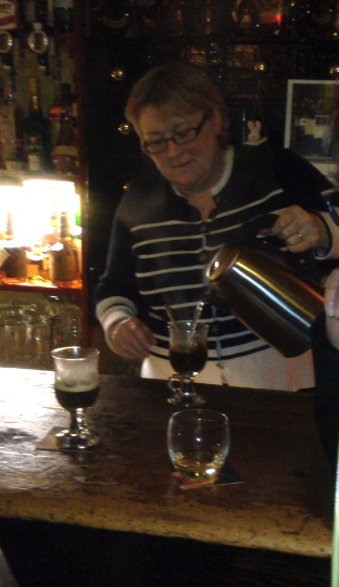O'Loclainn's Whiskey Bar.