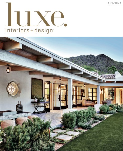 LUXE INTERIORS + DESIGN IS WHERE DESIGN ENTHUSIASTS, ARCHITECTS AND DESIGNERS CONNECT. THROUGH ITS 14 EDITIONS, THE MAGAZINE INSPIRES AND DIRECTS READERS TO THE BEST NATIONAL AND LOCAL RESOURCES THAT ENHANCE A WELL-LIVED LIFE.