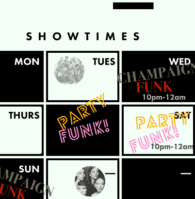 Showtimes Zoom