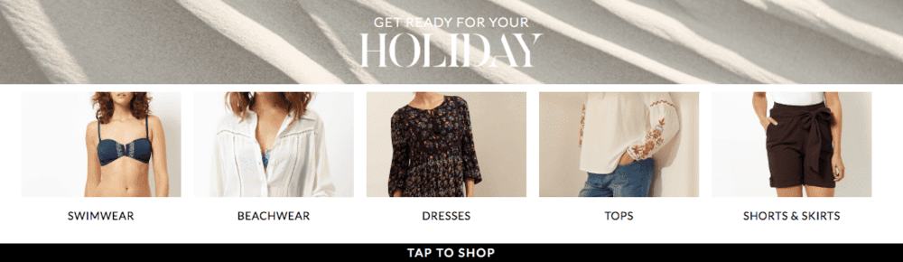2018 - HOLIDAY SHOP LAUNCH CAMPAIGN