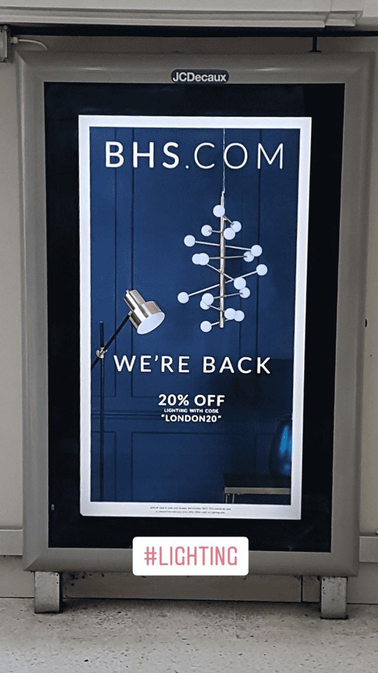 2017 'WE'RE BACK' ADVERT