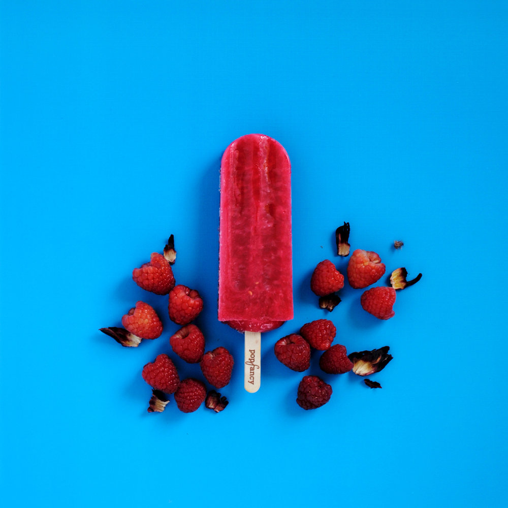 Popfancy Hibiscus Raspberry Popsicle