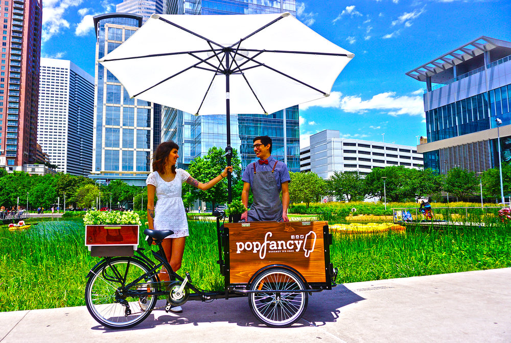 Popfancy catering popcycle