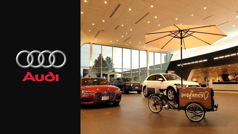 Popfancy catering Audi Houston