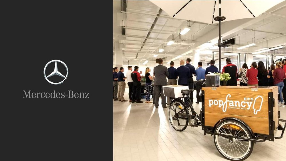 Popfancy catering Mercedes Benz