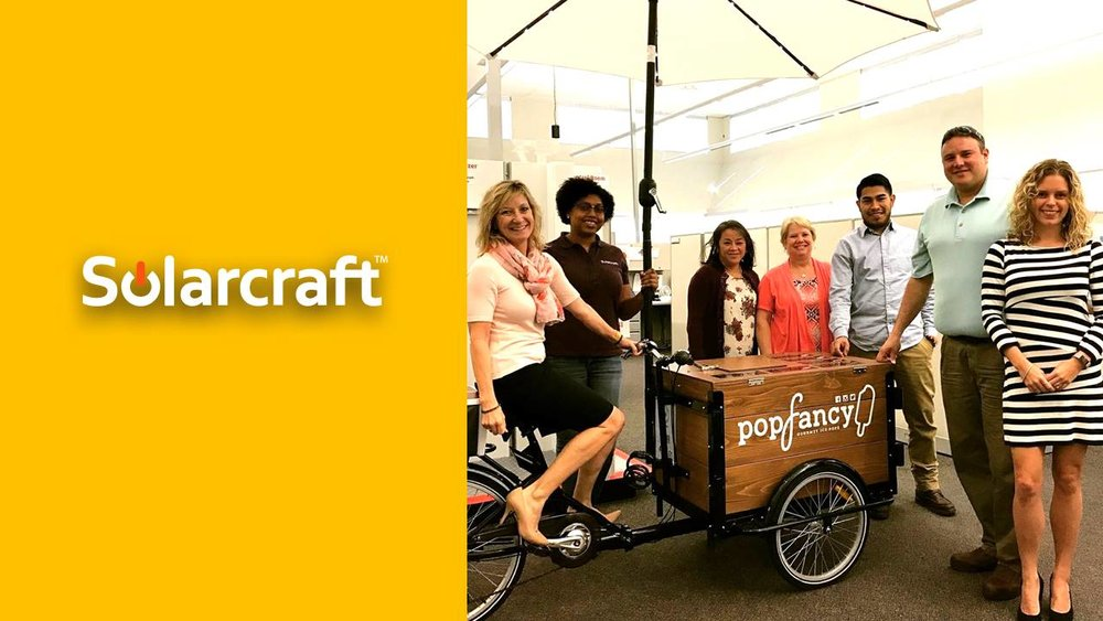 Popfancy catering Solarcraft Houston