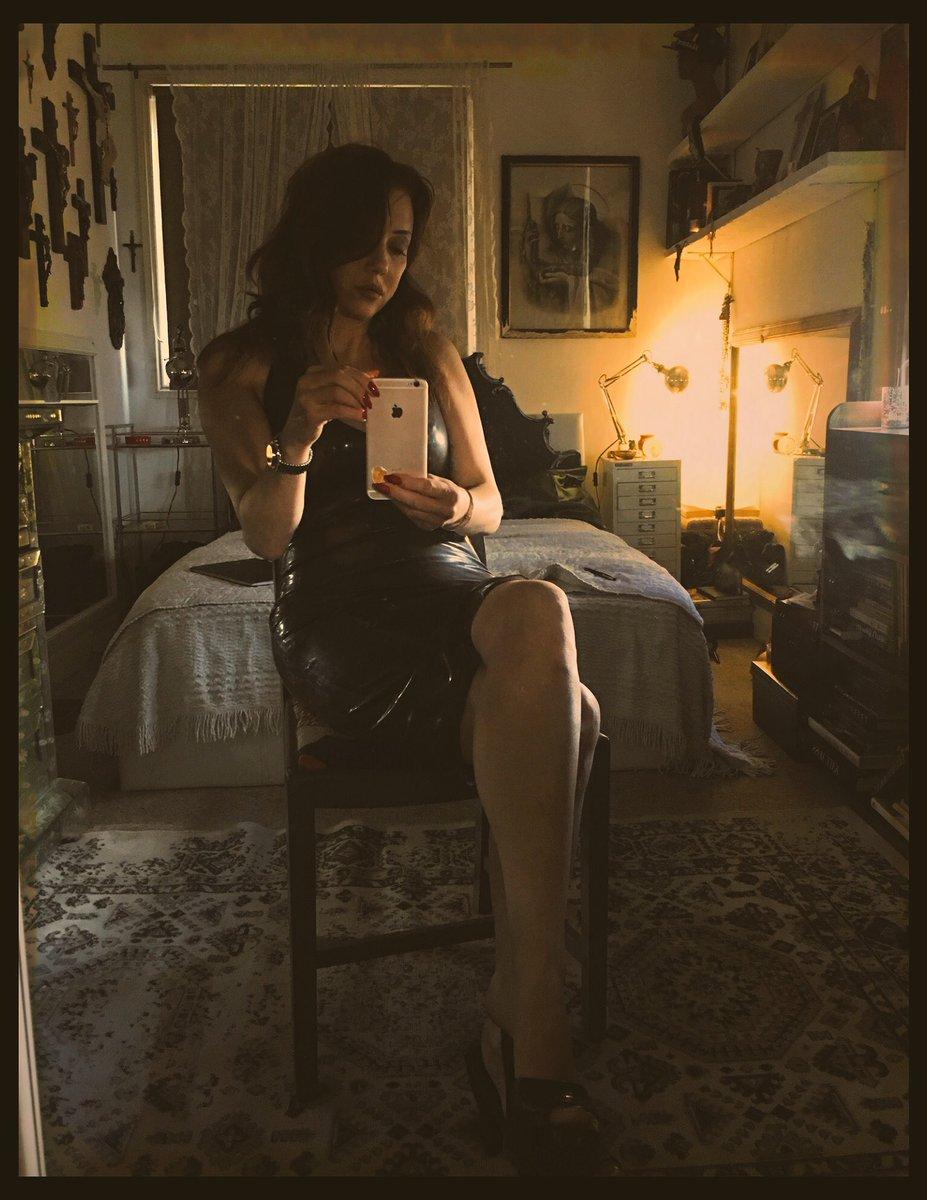 Latex Dress & My crucifix collection