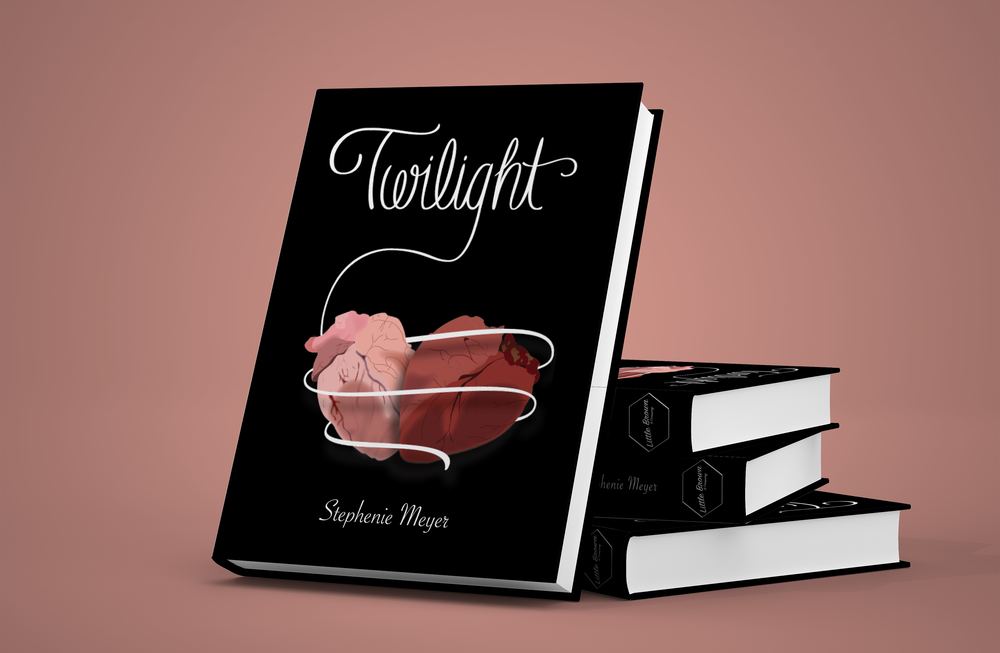 Twilight Book Cover mockup