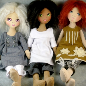 Little cloth girls pattern