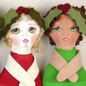 Ornament dolls