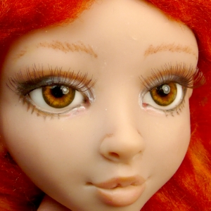 Doll eyebrows & eyelashes