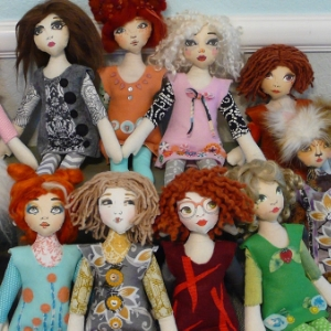 Easy Cloth Dolls Pattern