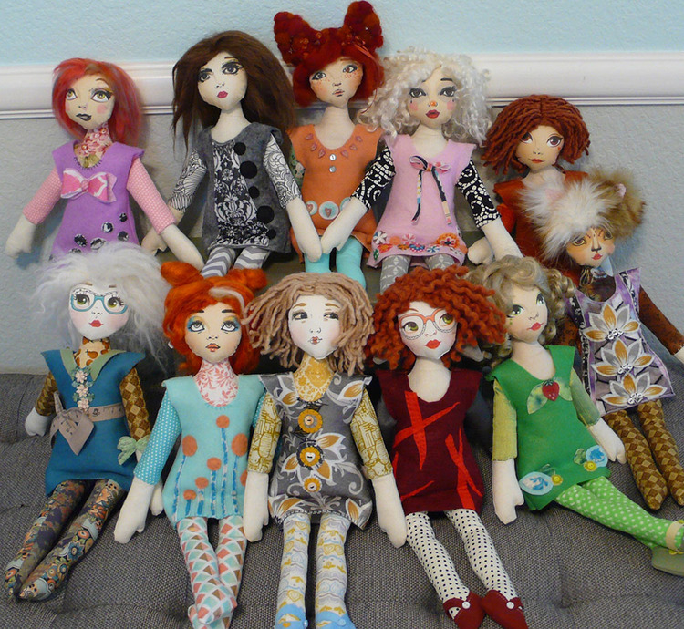 Free pattern — Doll Project